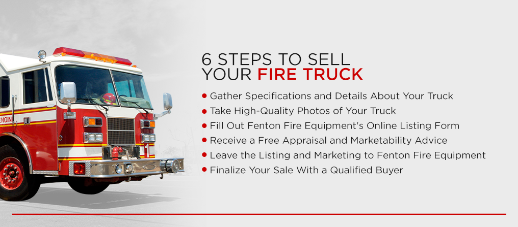 6 Steps to Sell Your Fire Truck