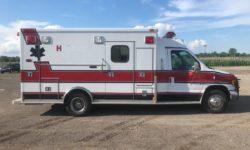 1999 Ford Ambulance side