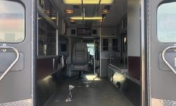 1999 Ford Ambulance inside back