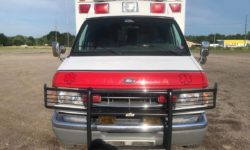 1999 Ford Ambulance front