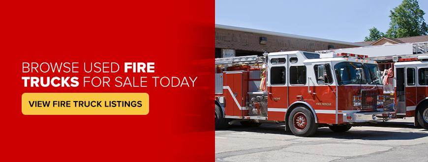 Browse Used Fire Trucks for Sale